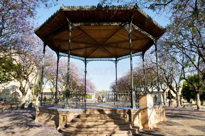 Alameda Vieja, Jerez De La Frontera, Hiszpania - obrazy stock