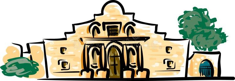 Alamo lizenzfreie abbildung