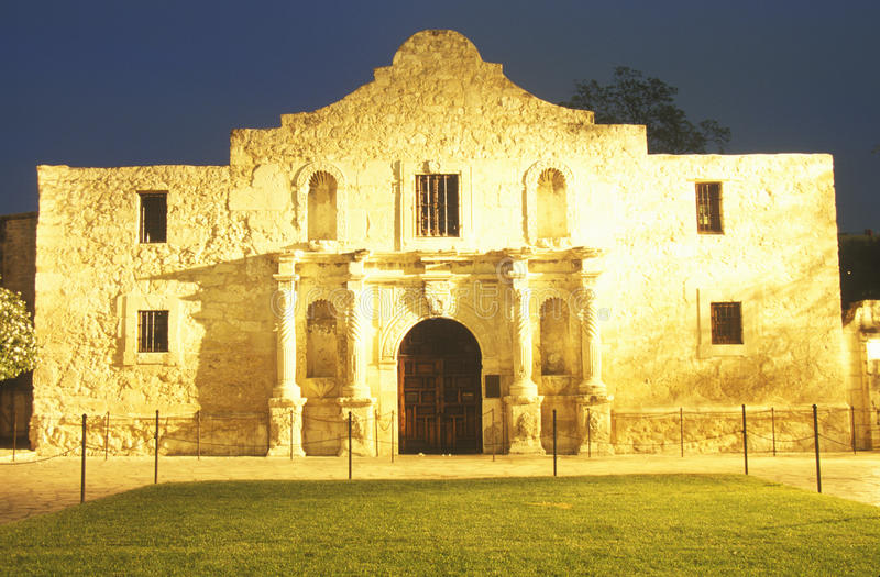 Download The Alamo Historic Mission stock photo. Image of building - 26889580