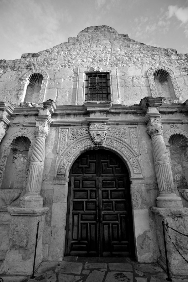 Download Alamo mission stock image. Image of places, night, black - 8697059