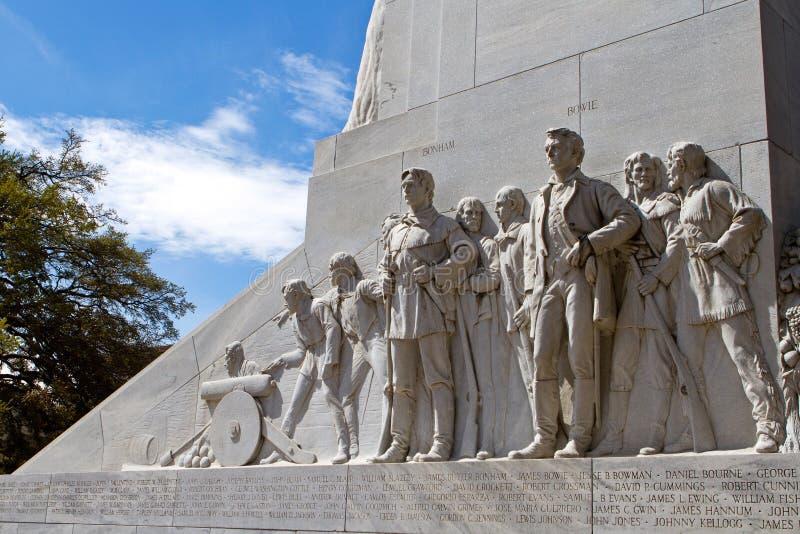 Alamo monument arkivfoto