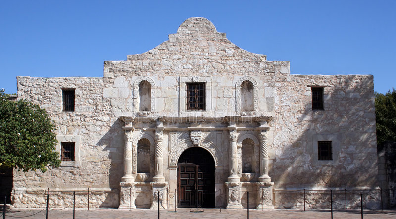Alamo in San Antonio stock photography
