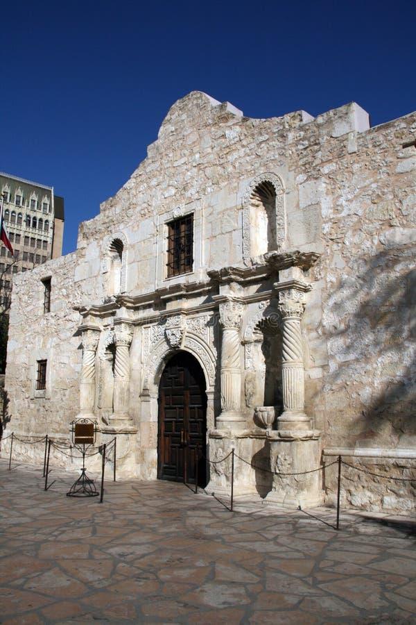 Alamo a San Antonio del centro fotografia stock libera da diritti