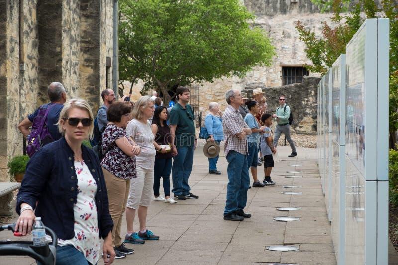 Alamo San Antonio Texas lizenzfreie stockbilder
