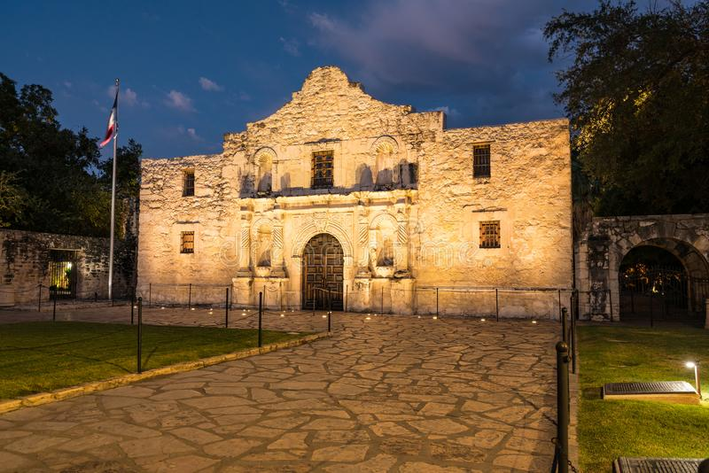 The Alamo in San Antonio, Texas royalty free stock photos