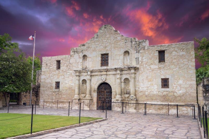 Alamo, San Antonio, TX photographie stock libre de droits
