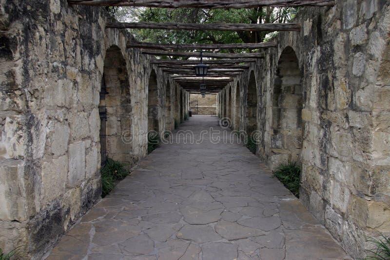 Alamo - San Antonio, TX royalty-vrije stock afbeelding