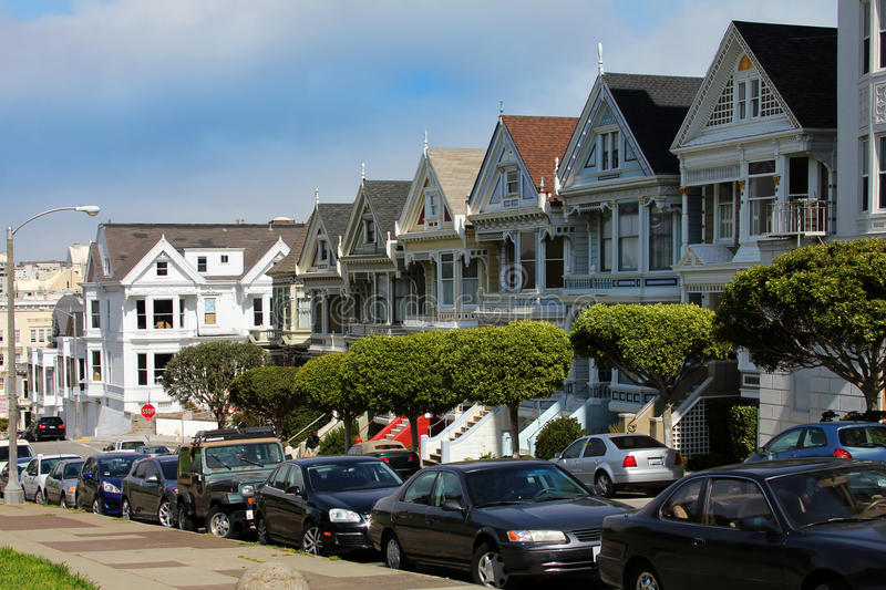 Download Alamo Square stock image. Image of city, building, pacific - 22334489