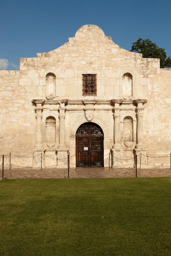 The Alamo in Texas. The Alamo in San Antonio Texas royalty free stock images