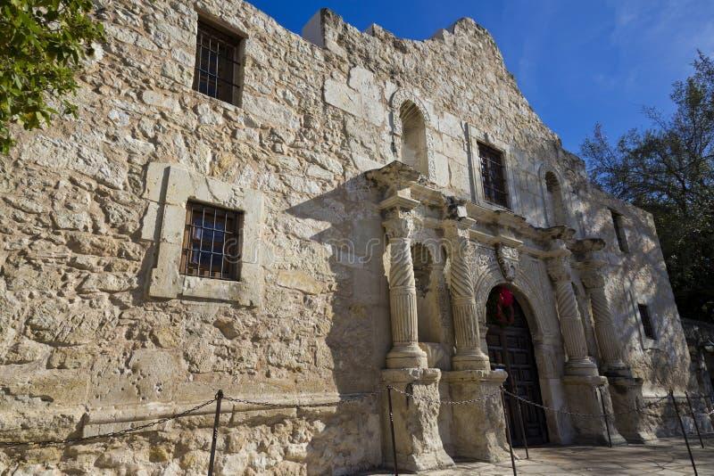 Alamoen, San Antonio, Texas fotografering för bildbyråer