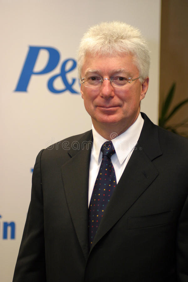 Alan G. Lafley imagem de stock