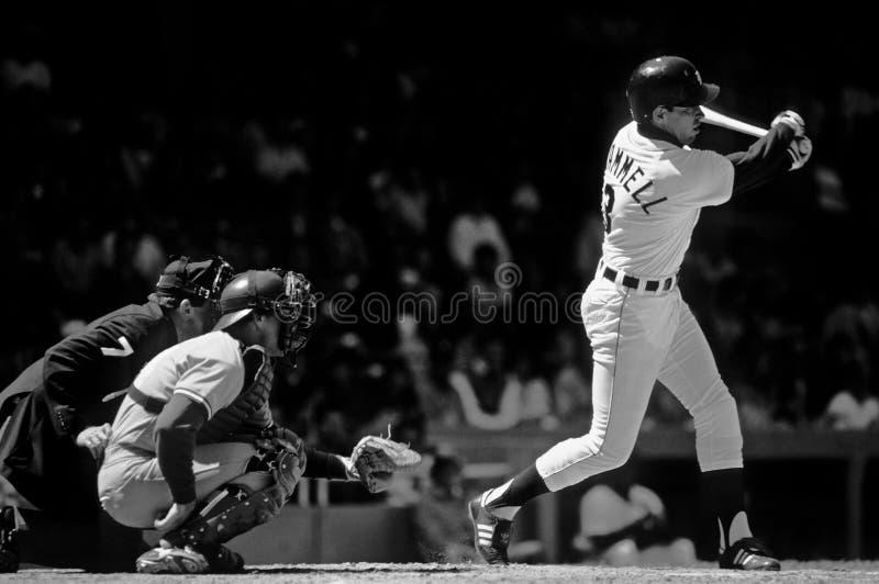 Alan Trammell Detroit Tigers fotografia de stock royalty free