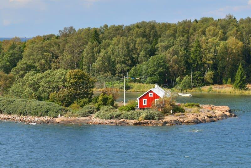 Aland wyspy, Finlandia fotografia royalty free