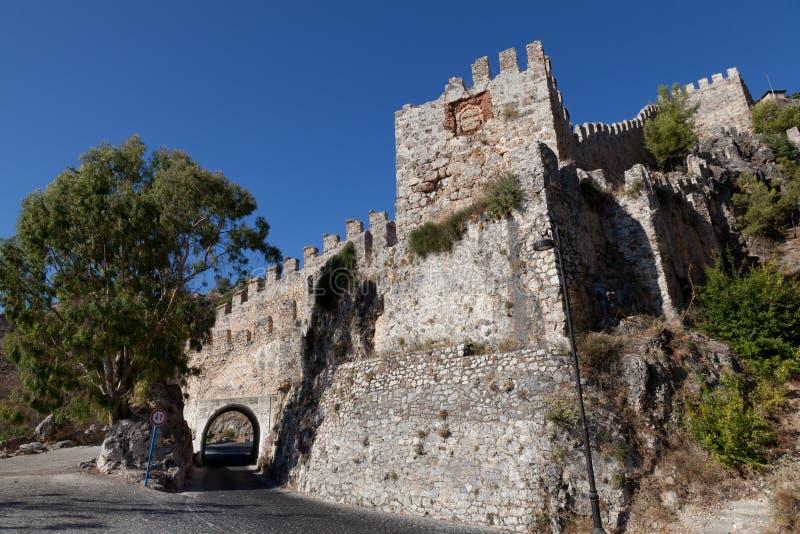 alanya城堡火鸡 库存照片