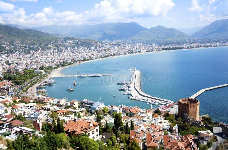 Alanya, die Türkei stockbild