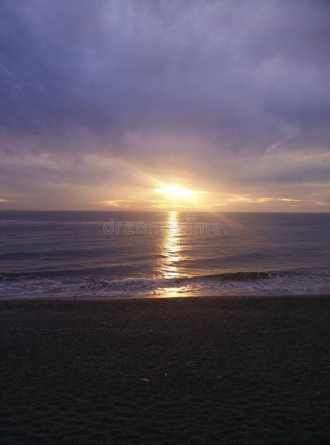 Alanya-Strand stockbild