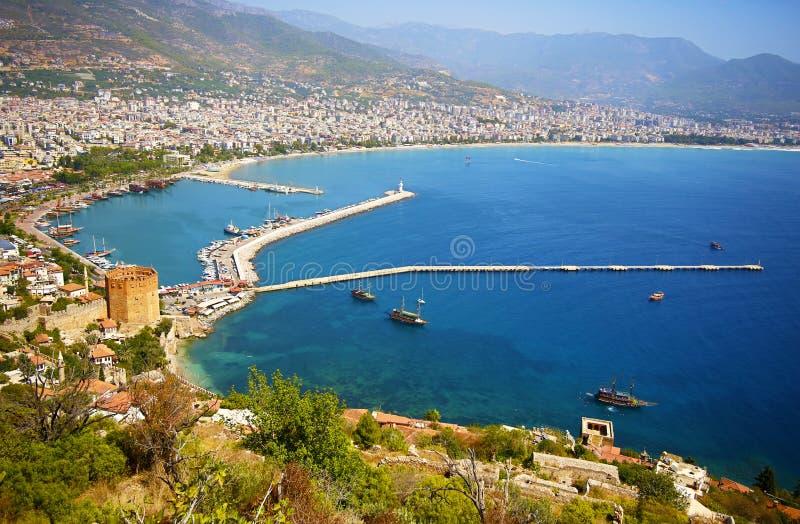 Alanya, Turkije royalty-vrije stock afbeelding