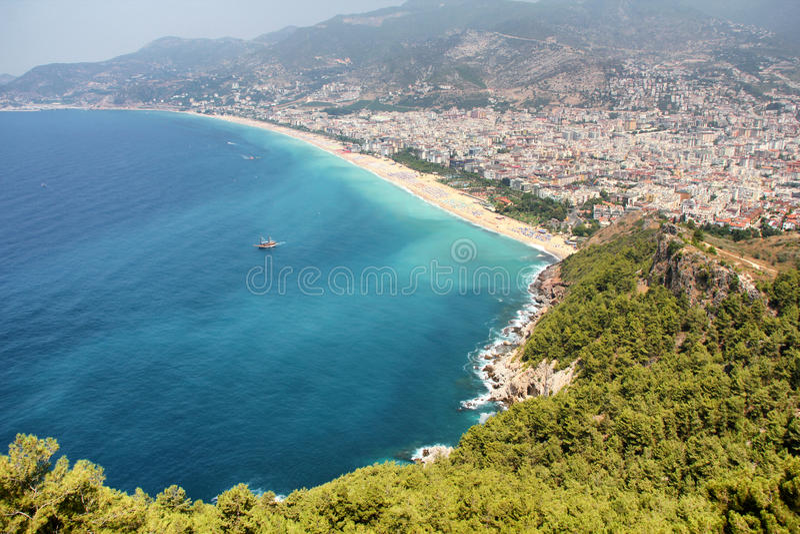 Download Alanya, Turquia foto de stock. Imagem de seaside, casa - 26506860