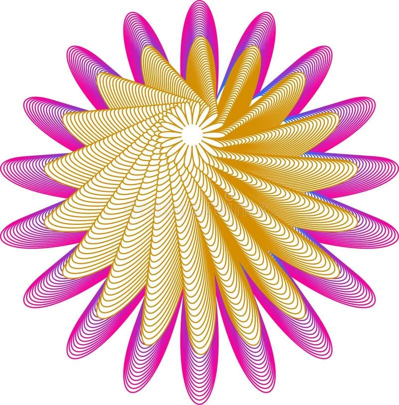 Rose Flower Logo With Circle Badge Template:  Flower Petals Logo Stock Illustrations 3,315 Flower