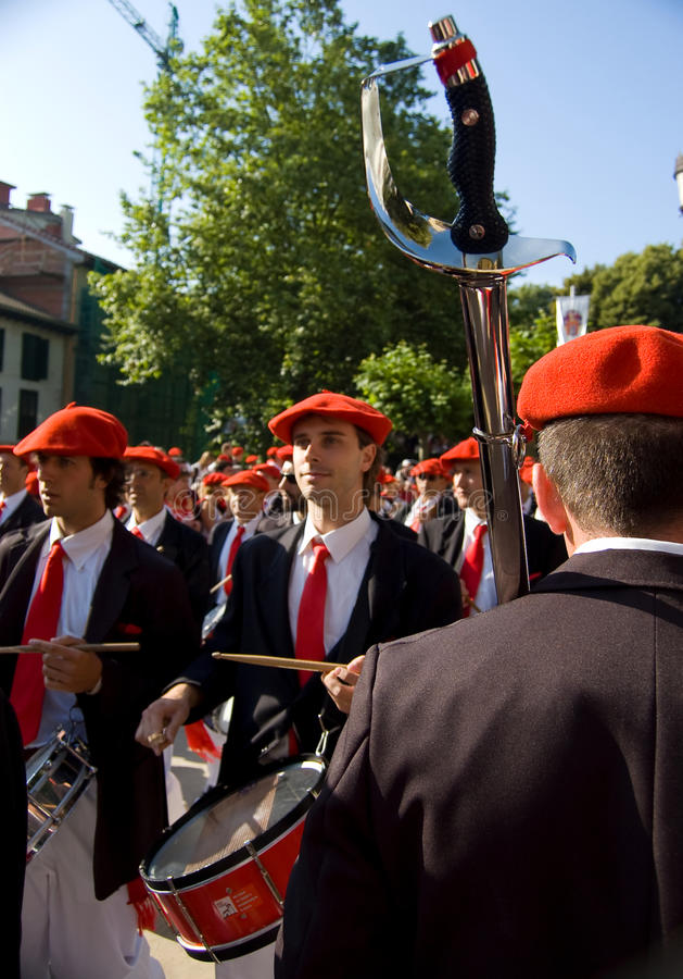 Download Alarde Van San Marcial In Iru'n Guipuzcoa, Spanje Redactionele Stock Foto - Afbeelding bestaande uit europa, land: 54086503