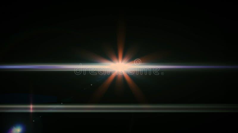 Alargamento real da lente disparado no est?dio sobre o fundo preto F?cil adicionar como fotos do filtro da folha de prova ou de t fotografia de stock royalty free