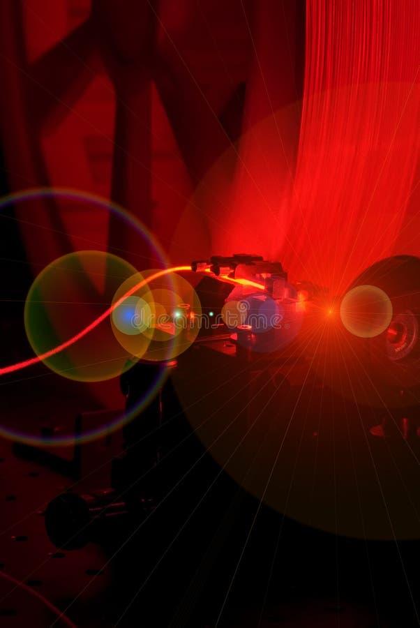 Alargamento vermelho 2 do carretel fotografia de stock royalty free