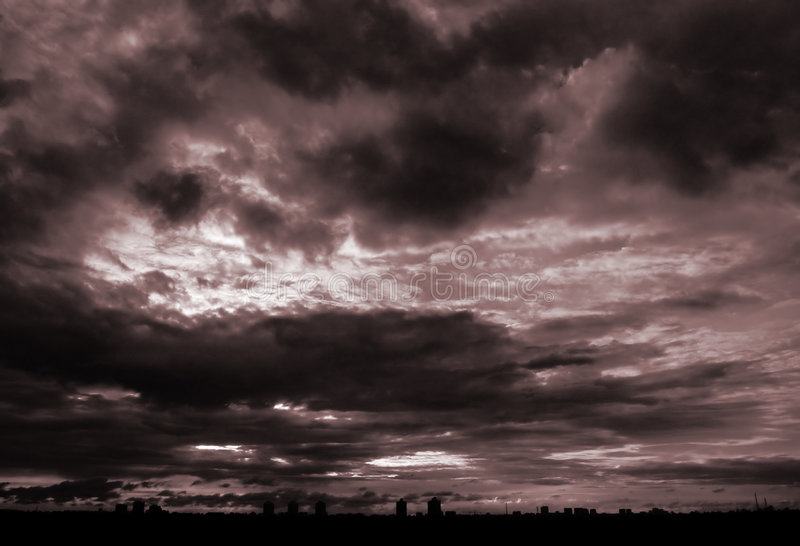 Download Alarm [2] stock image. Image of sepia, alarm, nature, sunset - 165625