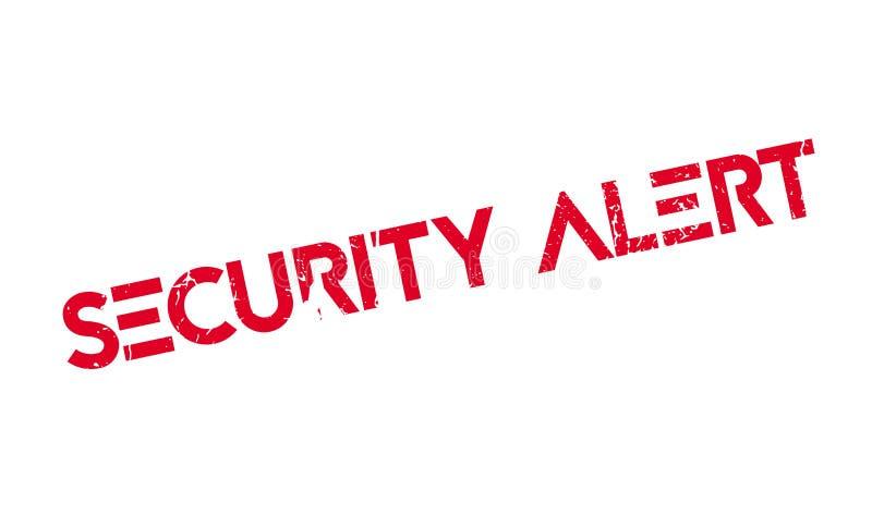 Alarm Bezpieczeństwa pieczątka royalty ilustracja