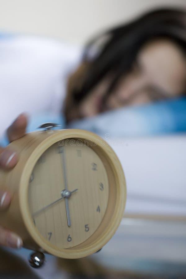 Download Alarm - blur stock image. Image of sheets, sleep, girl - 2534435