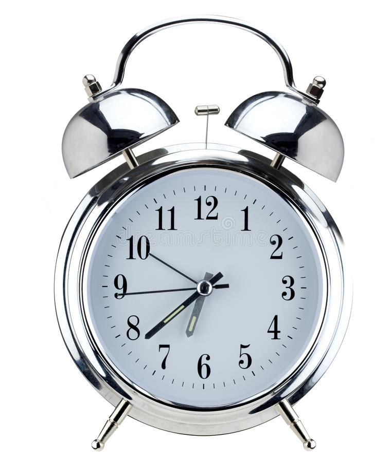 Download Alarm clock stock image. Image of alert, fashioned, metal - 11919153