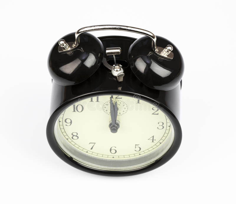 Download Alarm clock stock photo. Image of timekeeper, tick, isolated - 12149280