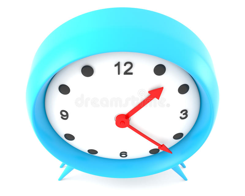 Download Alarm clock stock illustration. Image of minute, color - 13256395