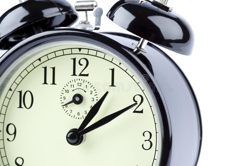 Download Alarm clock stock photo. Image of shines, hour, silver - 17489806