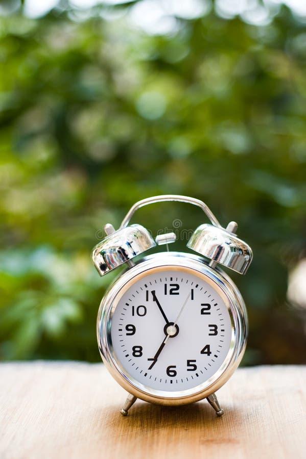 Download Alarm clock stock image. Image of metal, bright, garden - 25075663