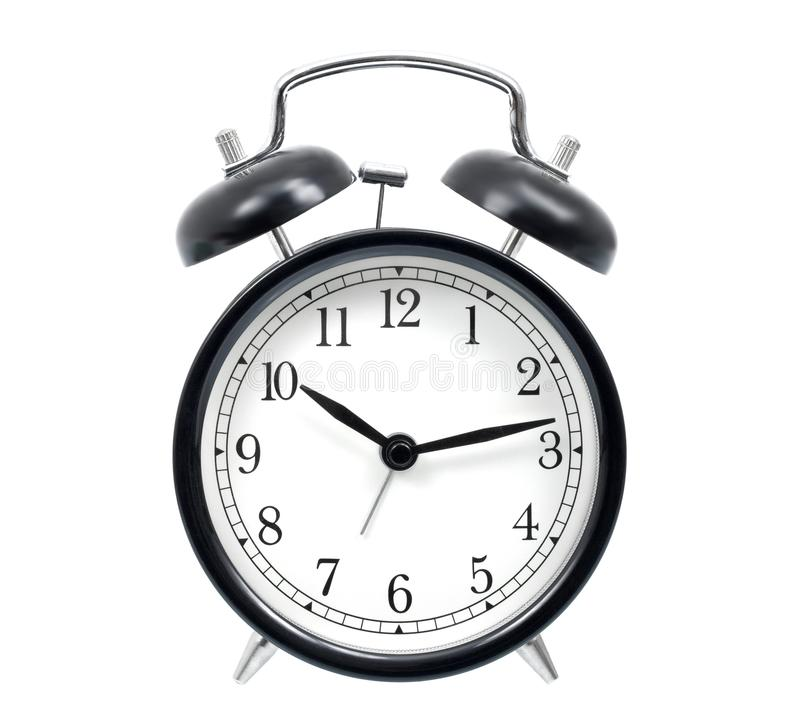 Download Alarm Clock stock image. Image of deadline, black, clock - 26712575