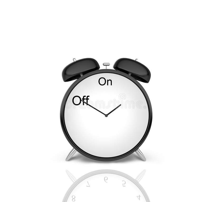 Download Alarm clock stock illustration. Image of business, sign - 27138135
