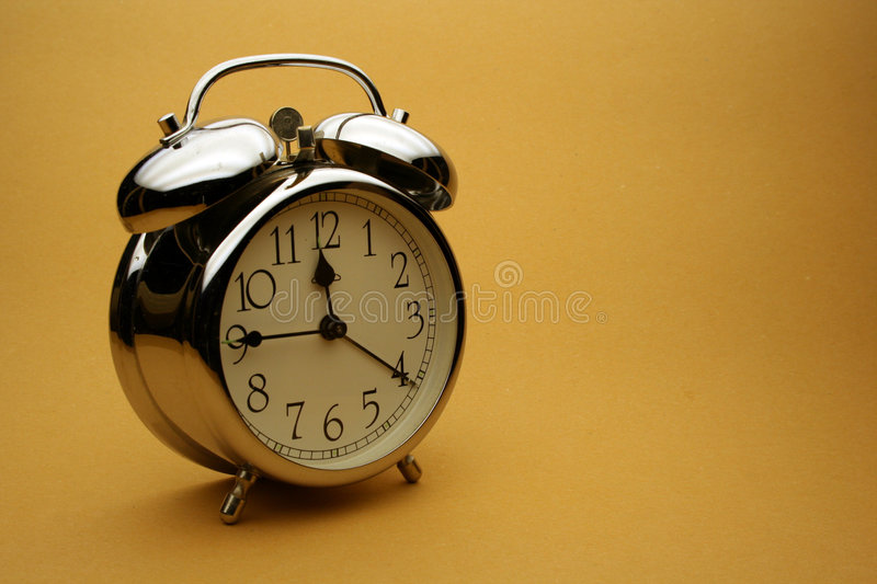 Download Alarm-clock stock photo. Image of time, chrome, bells - 2985702