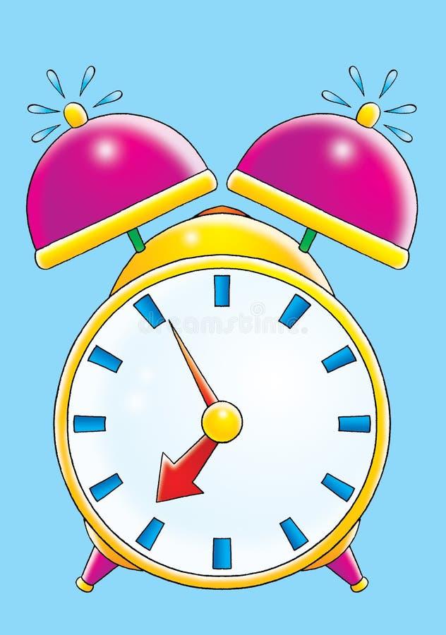 Download Alarm clock stock illustration. Illustration of funny - 3103239