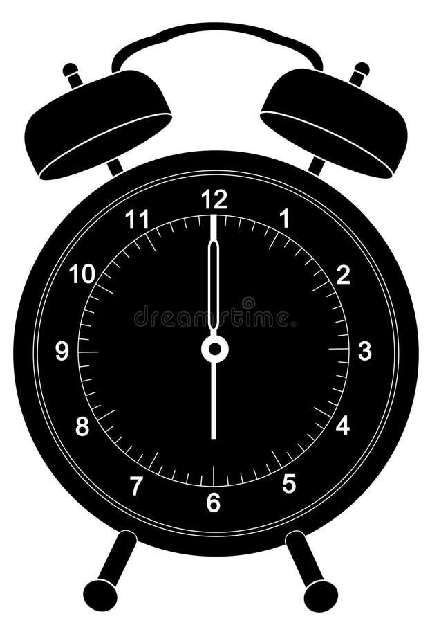Download Alarm clock stock vector. Image of dial, pass, buzz, classic - 4858125