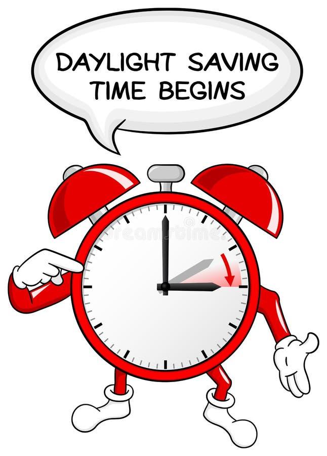 Free Alarm Clock Change To Daylight Saving Time Royalty Free Stock Photography - 44902907