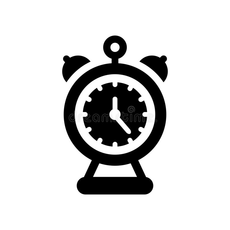 Alarm clock icon. Trendy Alarm clock logo concept on white background from User Interface and Web Navigation collection vector illustration