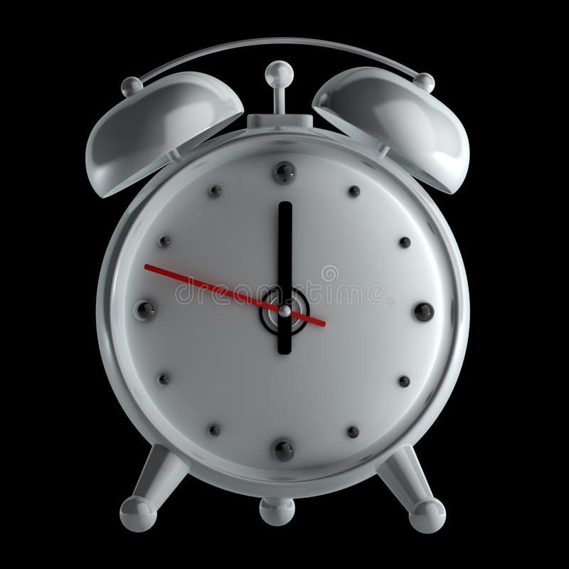 Download Alarm Clock Isolated Stock Images - Image: 24130064