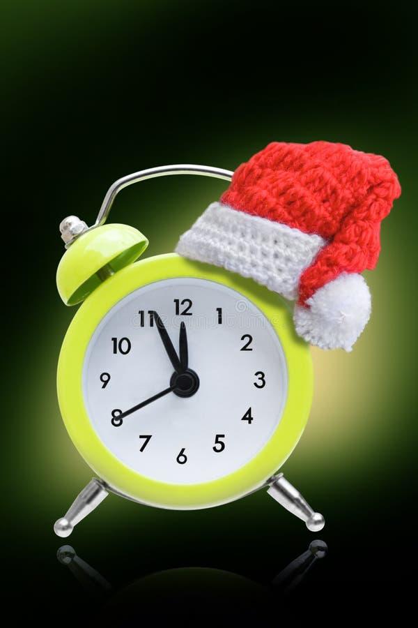 Alarm clock new year concepts royalty free stock photos
