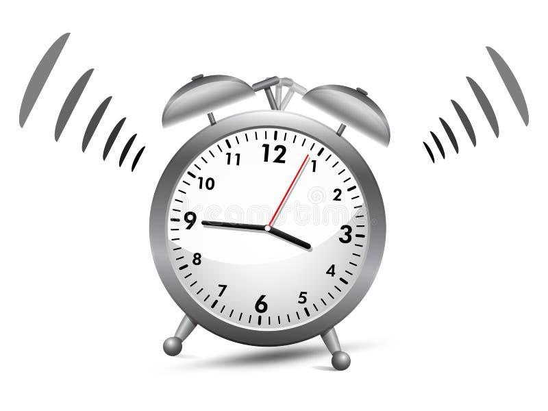 Alarm clock ringing stock vector. Illustration of classic ...