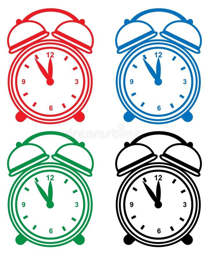 Download Alarm Clock Set Royalty Free Stock Image - Image: 12833486