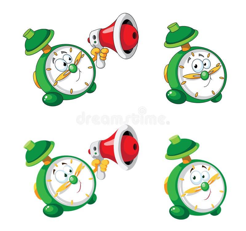 Alarm Clock Set Stock Image