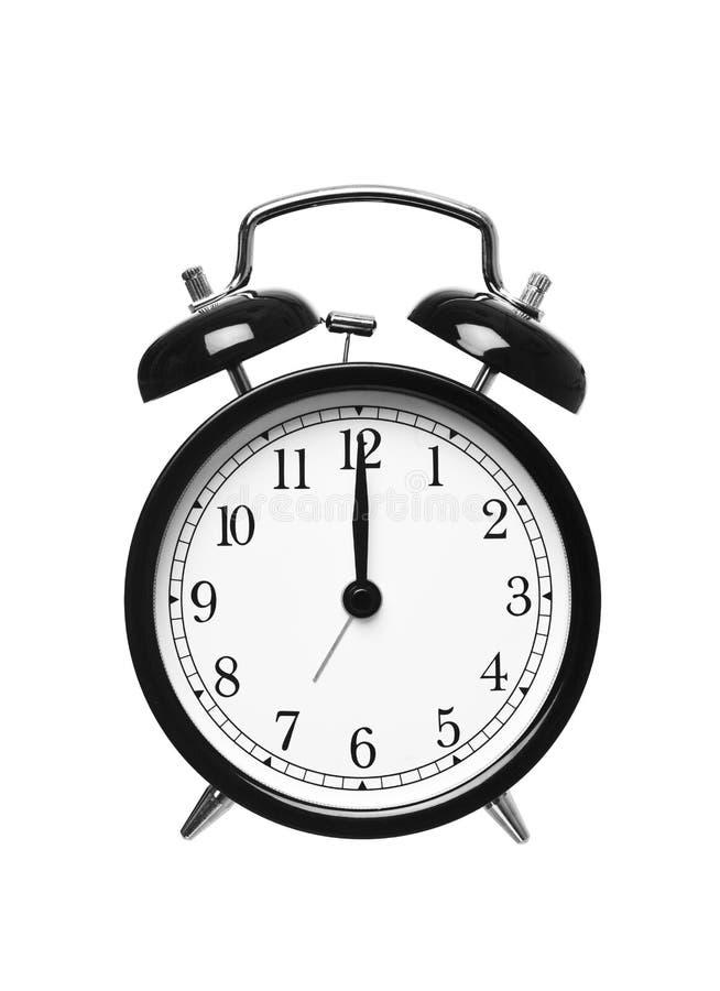 Download Alarm Clock Shows Twelwe O`clock Stock Photo - Image: 16380404