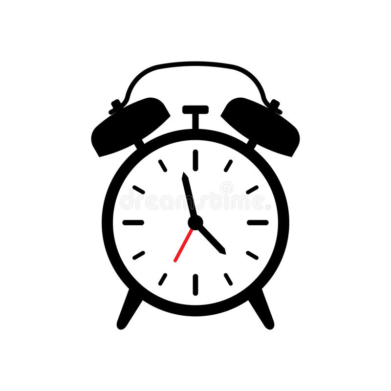 alarm clock vector icon stock vector illustration of icon 98504958 rh dreamstime com alarm clock vector freepik alarm clock vector icon