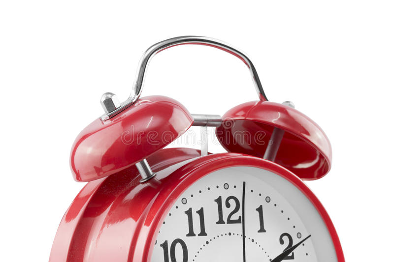 Download Alarm Clock On White Background. Stock Image - Image: 83709081