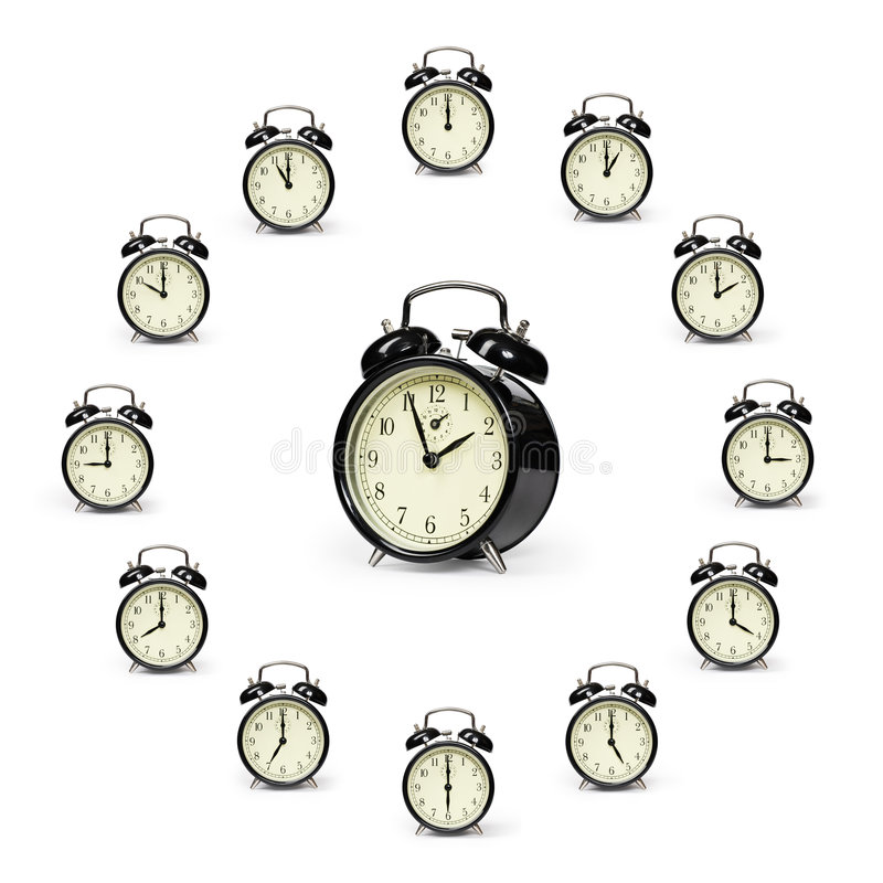 Download Alarm clocks stock photo. Image of ring, time, rings, ringers - 7811088